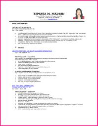 Sample Resume For Ojt In Information Technology New Adorable Ojt