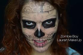 zombie boy laurart makeup