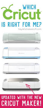 Compare Cricut Machines Chart What Are The Cricut Machine Differences Hey Lets Make Stuff