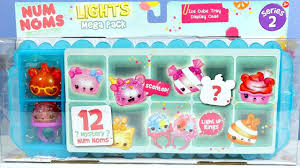 Lights The Ice Pack Num Noms Lights Series 2 Mega Pack Ice Cube Tray Display