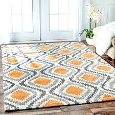 orange and gray area rugs area rug orange orange and gray area rug bedroom brilliant