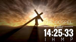 Image result for IMAGES OF LUKE 14:25-33