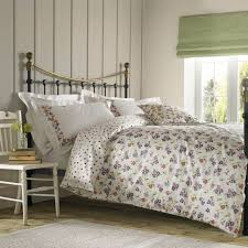 emma bridgewater wallflower fl spotted purple duvet quilt cover bedding set