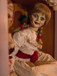 annabelle creation the true story of the evil doll star jpg 534x712 conjuring annabelle fake puppet