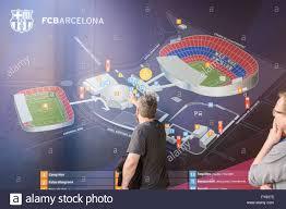 Camp Nou Stadium Seating Chart Camp Nou Stadium Complex Map Outside The Stadium Stock Photo