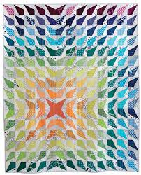 Contemporary Quilt Patterns Interesting Wavelength PDF Pattern Freshly Pieced Modern Quilt Patterns