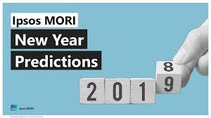 Ipsos MORI New Year Predictions 2019