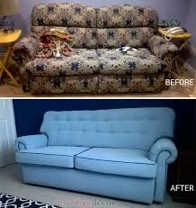 we changed this very traditional style sofa and made it contemporary modern used commercial fabric with ons and contrast piping
