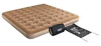 king size air mattress. Coleman King-Sized Quickbed With 4D Pump And Wrap \u0027N\u0027 Roll Storage King Size Air Mattress
