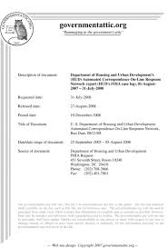 Department Of Housing And Urban Development Pdf Free Download