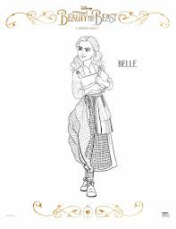 Free Printable Beauty And The Beast Coloring Pages Lola Lambchops
