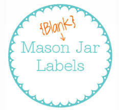 Avery Size Chart 030 Mason Jar Label Template Ideas Size Chart Ovals
