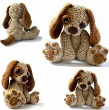 Crochet Dog Pattern Beauteous Dog Crochet Pattern Pinterest Top Pins Video Tutorial