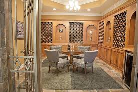 wine tasting room furniture. modern wine tasting room and cellar design with custom wood cabinets round antique table furniture i