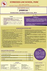 writing competitions and contests aba for law students legal essay   sls pune ilsa chapters international law essay competition juristas legal writing 2015 2014 p legal