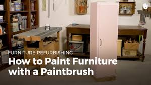 how to wallpaper furniture. How To Paint Furniture With A Paintbrush - Restoration   Sikana Wallpaper