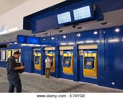 How To Use Ticket Vending Machine In Railway Station Stunning Train Ticket Vending Machines Railway Station Salzburg Stock Photo
