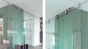 entrancing 10 glass barn door hardware inspiration mwe stainless ceiling mount barn door hardware