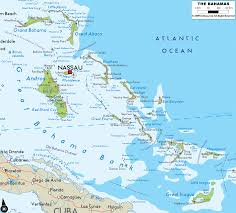 bahamas map  travelsfinderscom ®