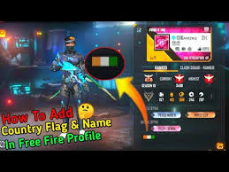 The game received the award for the best popular vote game by the google play store in 2019. How To Add Country Flag Name In Free Fire Profile Add County Flag Name In Free Fire Profile Youtube