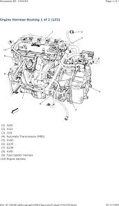 repair guides wiring systems and power management (2008 Le5 Wiring Diagram engine harness routing 1 of 2 (le5) (2008) LE5 Underdrive Pulley