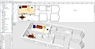 sweet home 3d plan kitchen diner and lounge