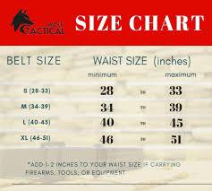 Riggers Belt Size Chart Heavy Duty Riggers Belt Stiffened 2 Ply Emergency Rescue