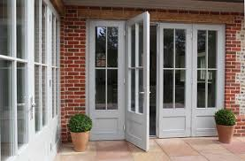 PERFORMANCE French Doors at Arts and Crafts style house