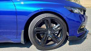 Maybe you would like to learn more about one of these? Wheels Chrome Delete On Sport Trim For Honda Accord 2018 Youtube