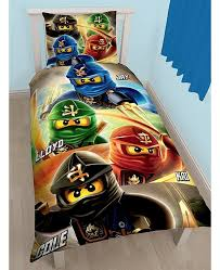 lego ninjago quadrant single duvet