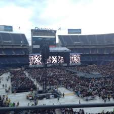 Sdccu Stadium Section Lv17 Row 2 Seat 6 One Direction
