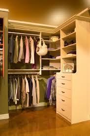 small walk in closet organizer