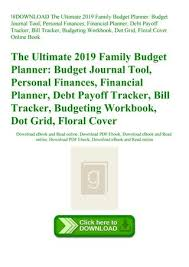 online family budget download the ultimate 2019 family budget planner budget