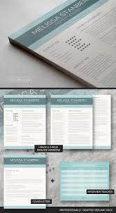 Clean Resume Template Package The Modern Day Candidate Freesumes