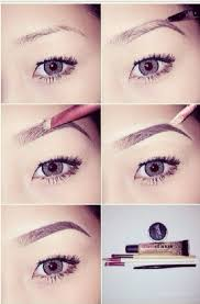 eyebrows makeup and simple image