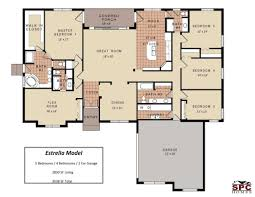 house plans bedrooms one floor collection also charming ideas bedroom with split stunning same side homes ranch basement two story looking with split aria