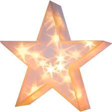 Best Of Home Beleuchtetes Deko Objekt 3d Stern 36 Cm X 36 Cm X 10 Cm