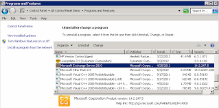 Imperfect It Exchange 2010 Update Process