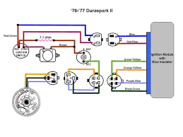 ford diagrams Duraspark 2 Wiring Diagram 76 77 duraspark ii color ford duraspark 2 wiring diagram
