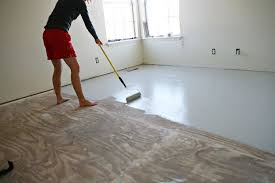 great idea for sub flooring between ripping up carpet and affording wood flooring diy home floor