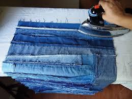 DIY denim patchwork quilt - Mollie Makes & Step 5 Adamdwight.com
