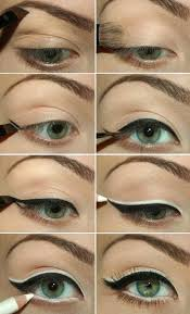 description how to use eyeliners for green eyes makeup tricks by makeup tutorials