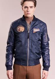 schott made in usa er jacket men clothing jackets blazers navy
