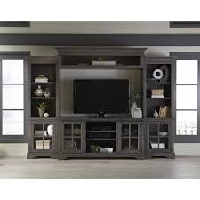 grey entertainment center. Shop Dillworth Grey Right Side Pier Unit Entertainment Center On Sale Free Shipping Today Overstockcom 14741474 Intended