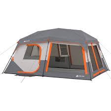 Ozark Trail 10-Person Instant Lighted Cabin Tent - Walmart.com