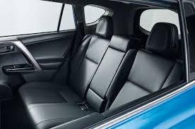 2016 toyota rav4 hybrid rear seat
