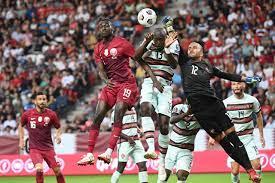 البرتغال تقسو على قطر في تصفيات مونديال كأس العالم 2022 (فيديو) | وطن يغرد  خارج السرب