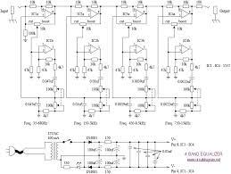 4 band equalizer schematic diagram schematic equalizer pinterest schematic diagram definition at Electronic Circuit Schematic Diagrams
