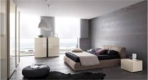 Modern Gray Bedroom Bedroom Modern Gray And White Bedroom With Leather Coated Bed