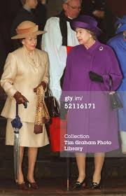 The Queen And Princess Margaret After <b>Christmas</b> Day Service At ...